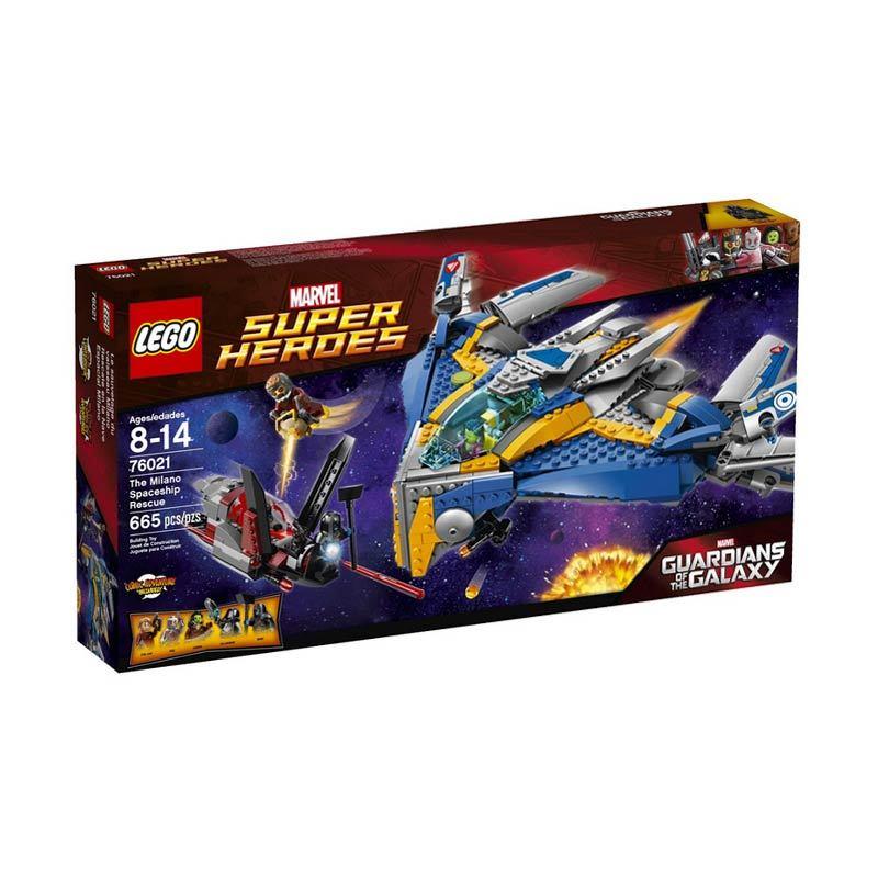 Lego The Milano Spaceship Rescue 76021 Mainan Blok dan Puzzle