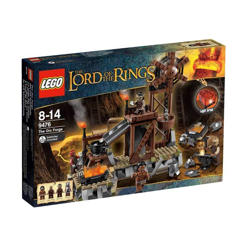 Lego The Orc Forge 9476 Mainan Anak