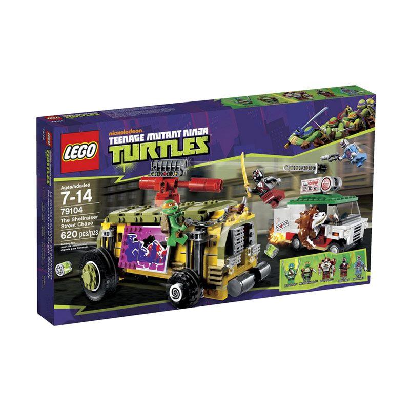 Lego The Shellraiser Street Chase 79104 Mainan Blok dan Puzzle