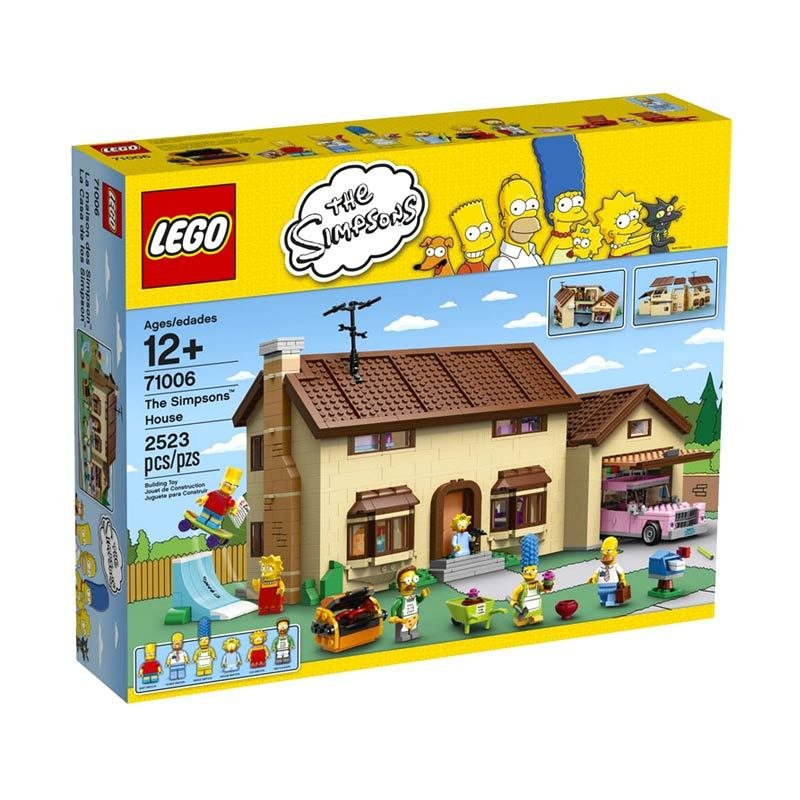 LEGO The Simpsons House 71006 Mainan Blok dan Puzzle