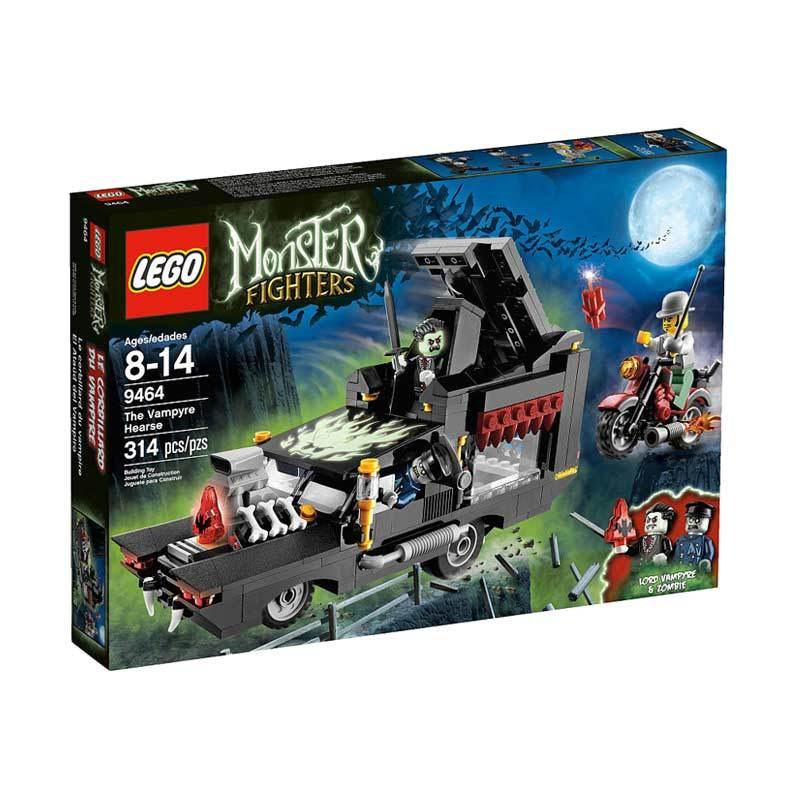 Lego The Vampyre Hearse 9464 Mainan Anak