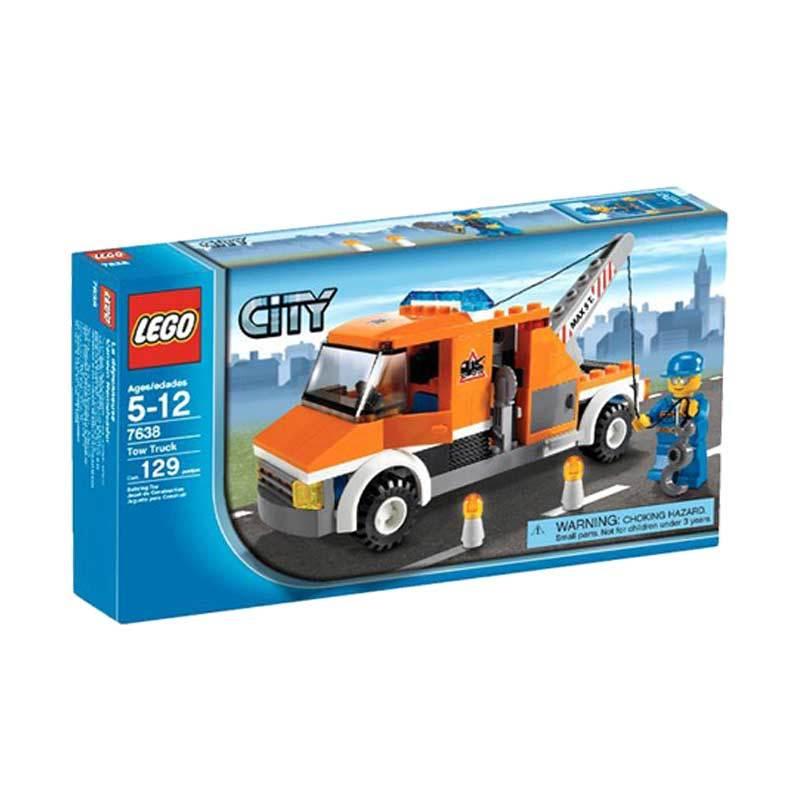 Lego Tow Truck 7638 Mainan Blok dan Puzzle