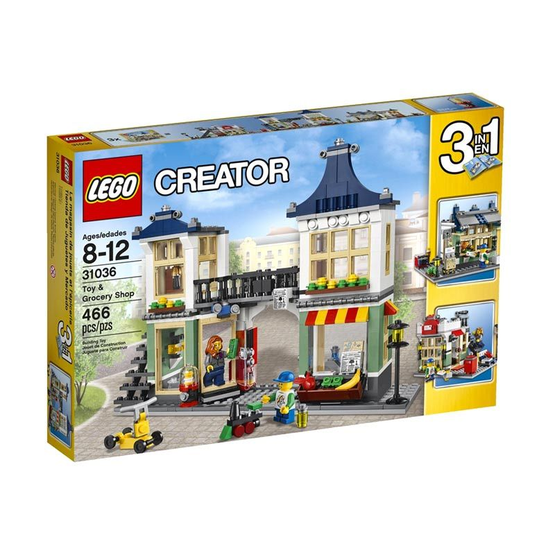 Lego Toy and Grocery Shop 31036 Mainan Blok dan Puzzle