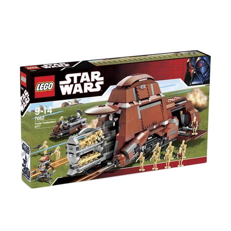 Lego Trade Federation MTT 7662 Mainan Blok dan Puzzle