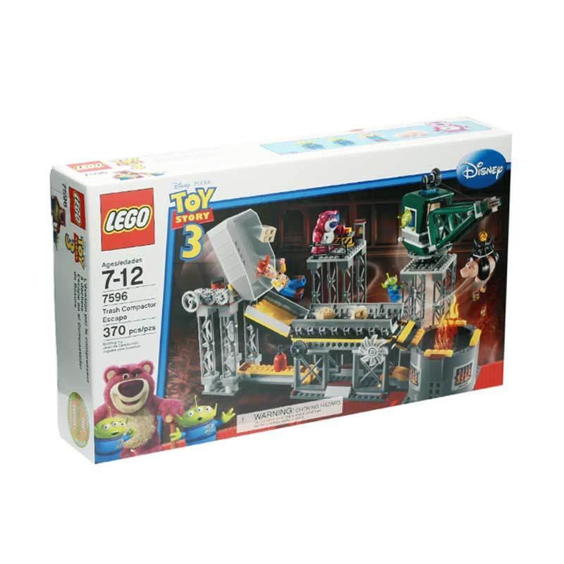 Lego Trash Compactor Escape 7596 Mainan Blok dan Puzzle