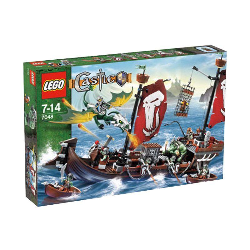 LEGO Troll Warship 7048 Mainan Anak