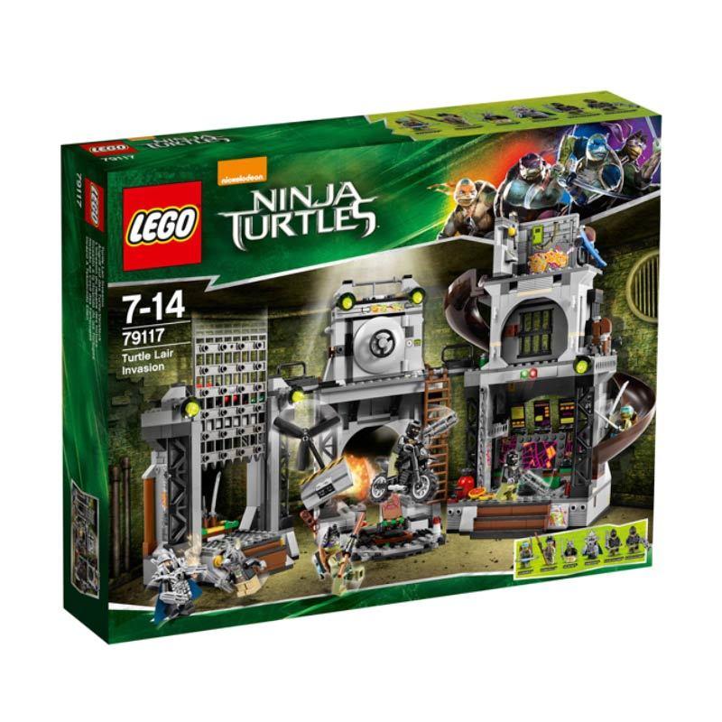 Lego Turtle Lair Invasion 79117 Mainan Blok dan Puzzle