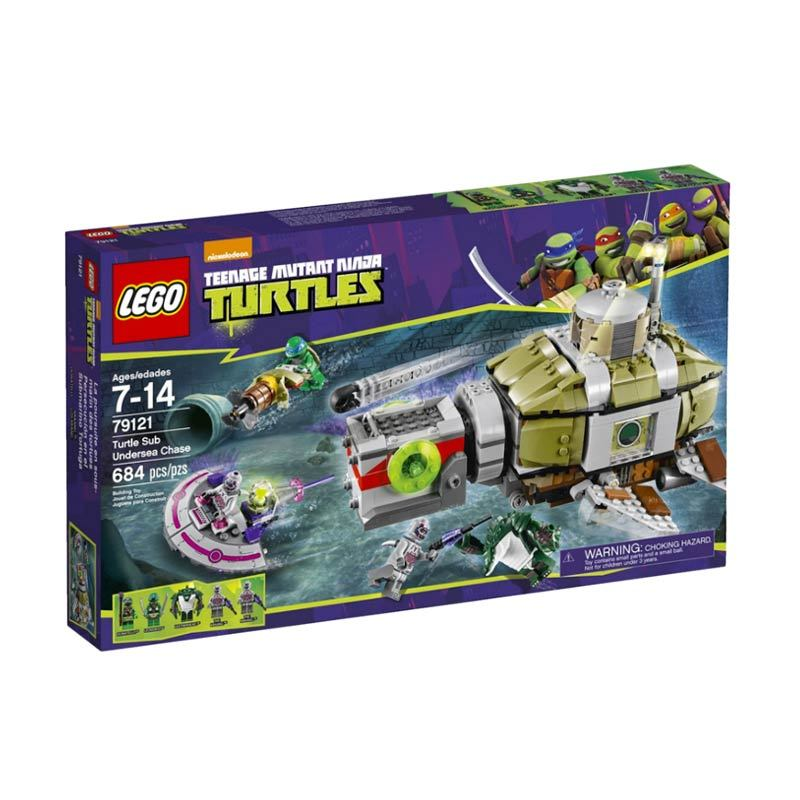 Lego Turtle Sub Undersea Chase 79121 Mainan Blok dan Puzzle