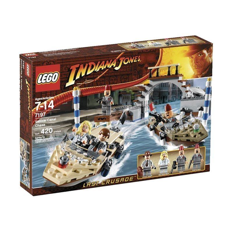 LEGO Venice Canal Chase 7197 Mainan Anak