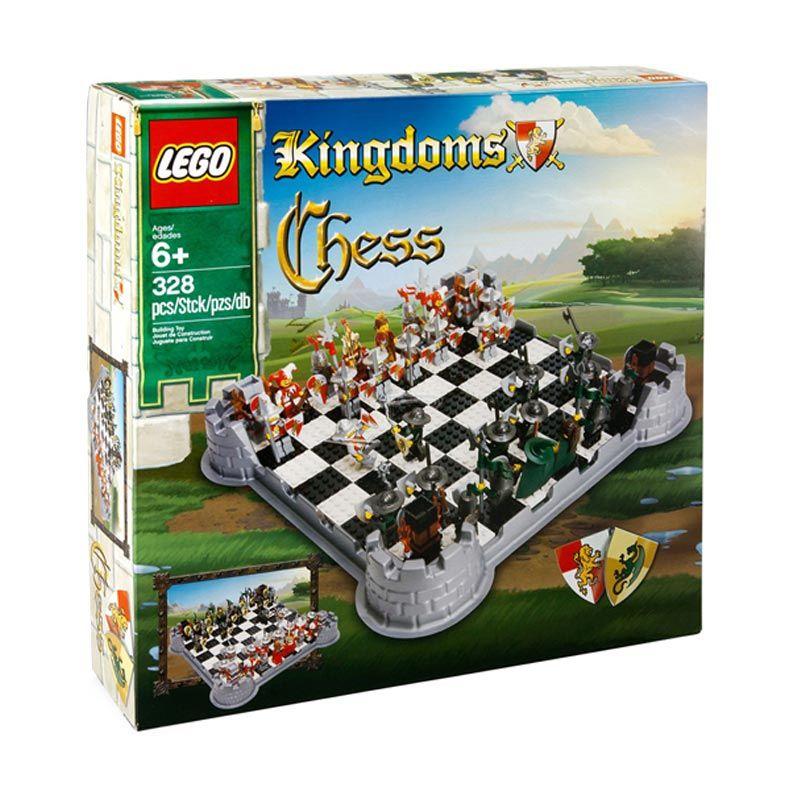 LEGO Vikings Chess Set G577 Mainan Blok dan Puzzle