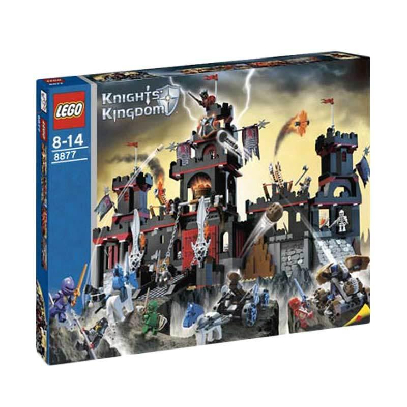 Lego Vladek'S Dark Fortress 8877 Mainan Blok dan Puzzle
