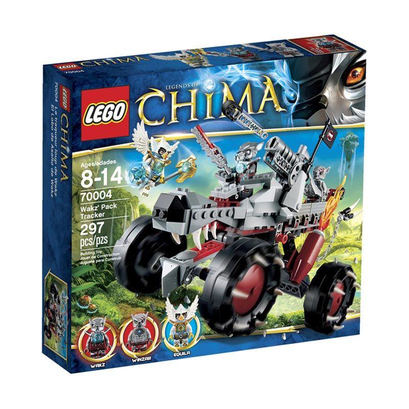Lego Wakz Pack Tracker L70004 Mainan Blok dan Puzzle