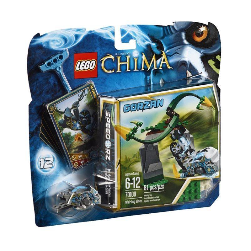 LEGO Whirling Vines L70109 Mainan Blok dan Puzzle