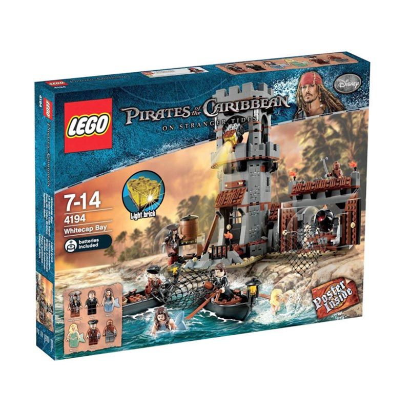 LEGO Whitecap Bay 4194 Mainan Anak