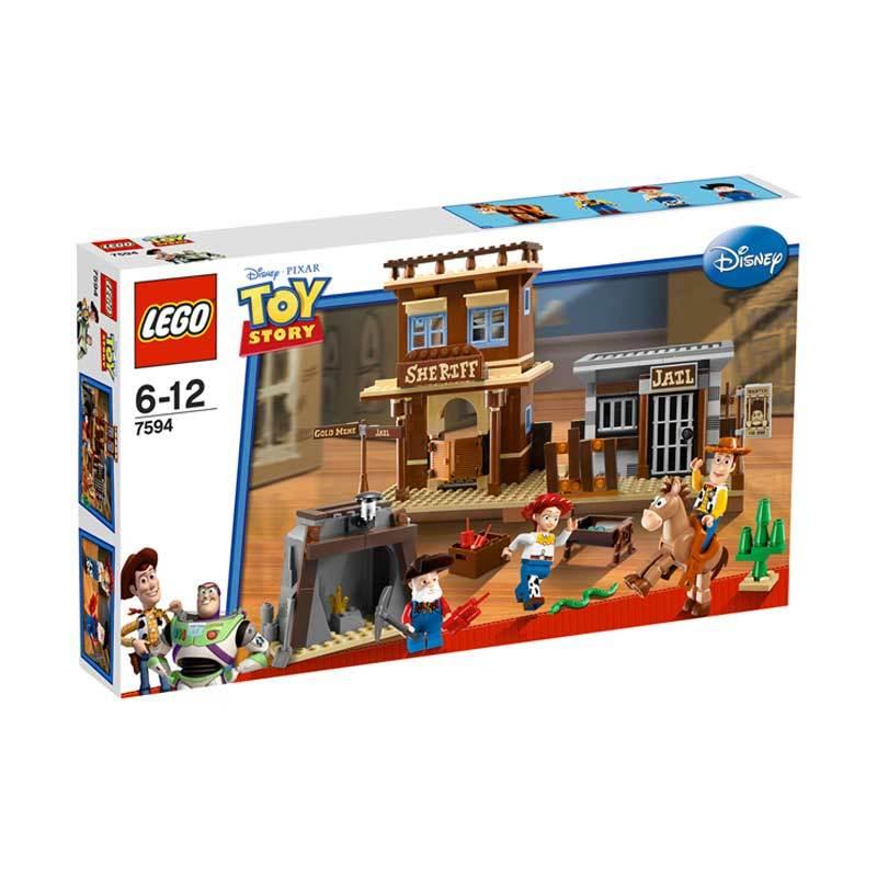 Lego Woody's Roundup! 7594 Mainan Blok dan Puzzle