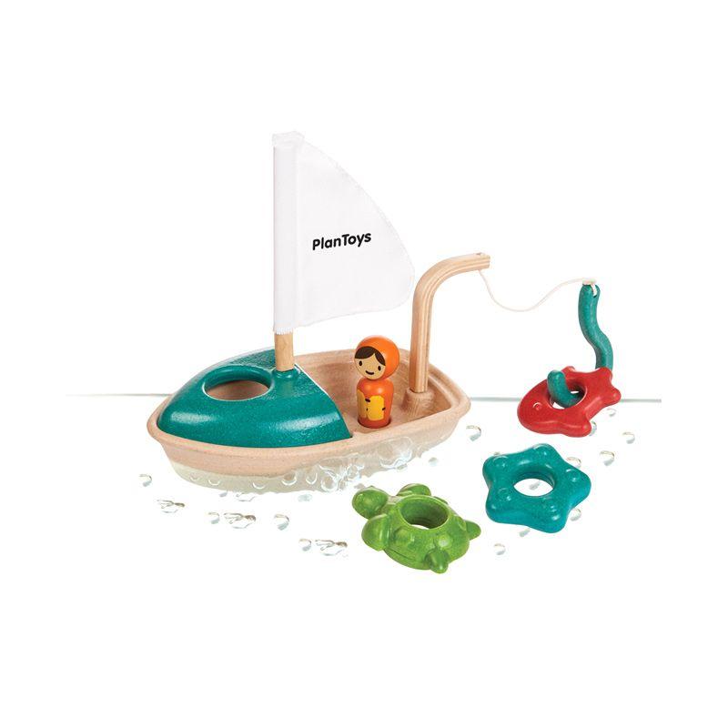 Plan Toys Activity Boat PT5693 Mainan Anak