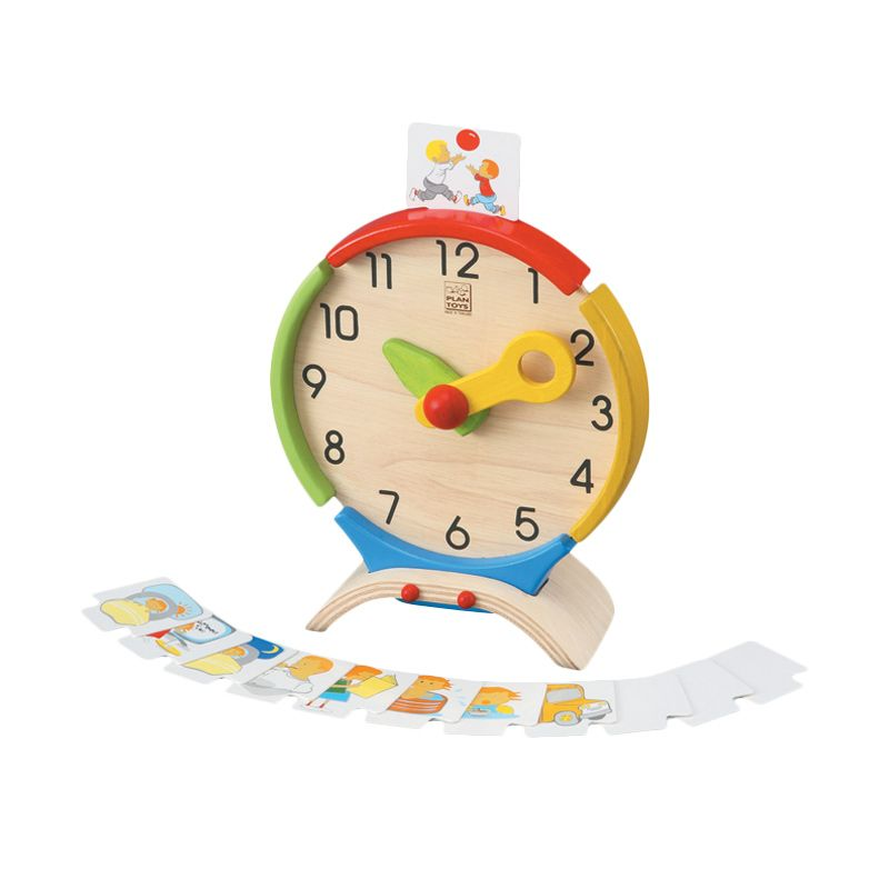 Plan Toys Activity Clock PT5122 Mainan Anak