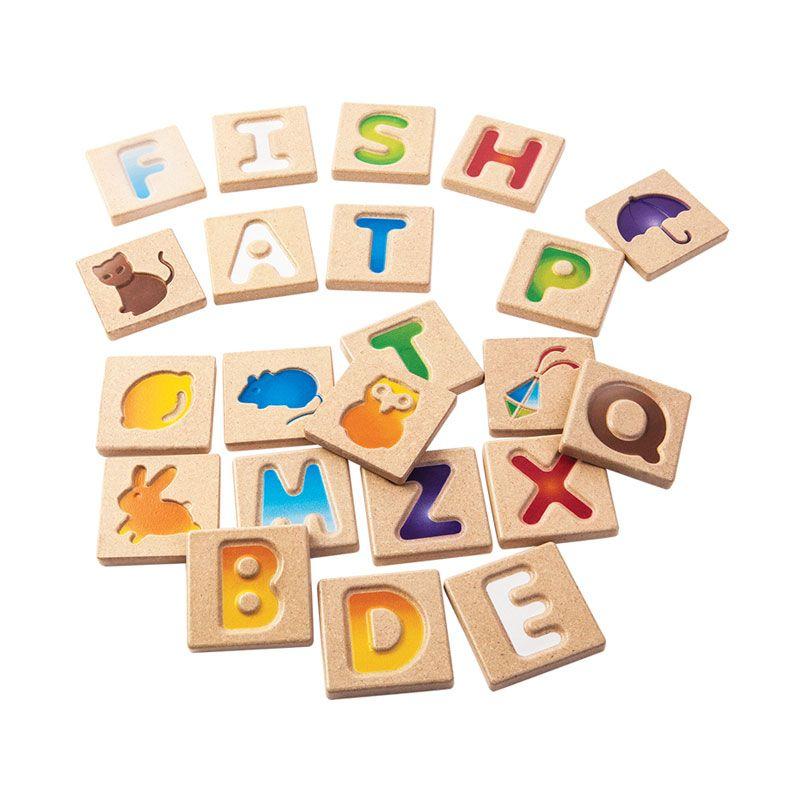 Plan Toys Alphabet AZ Gradient PT5637 Mainan Anak