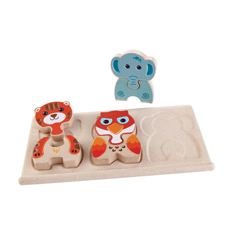 Plan Toys Animal Puzzle PT5611 Mainan Anak