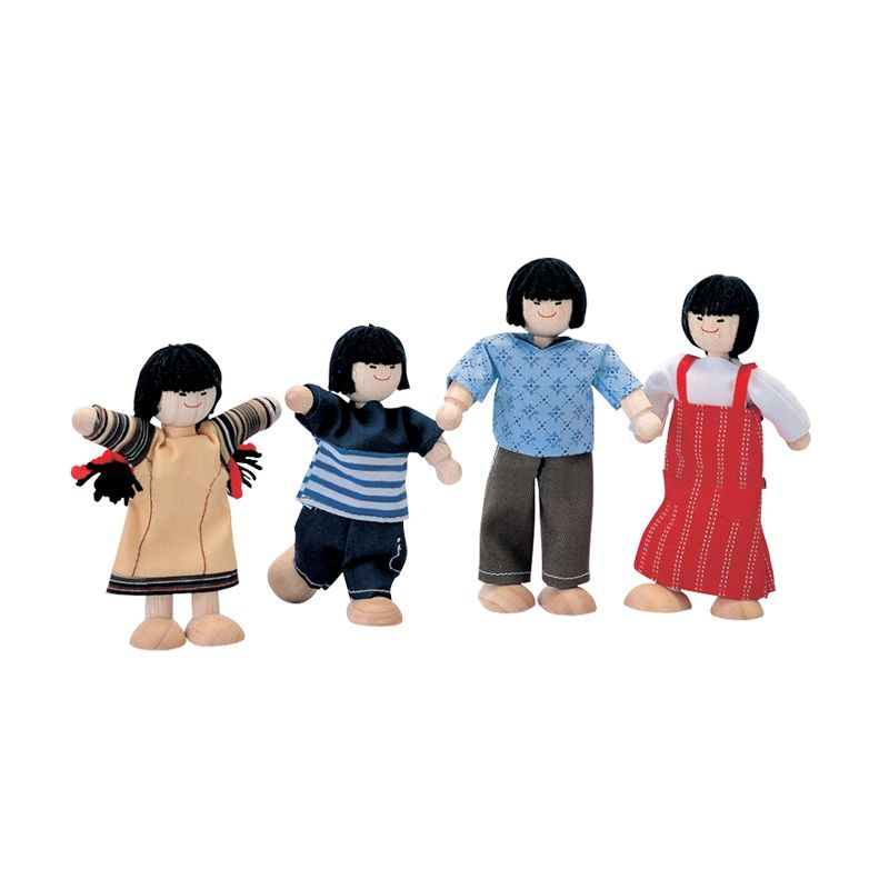 Plan Toys Asian Family PT7417 Mainan Anak