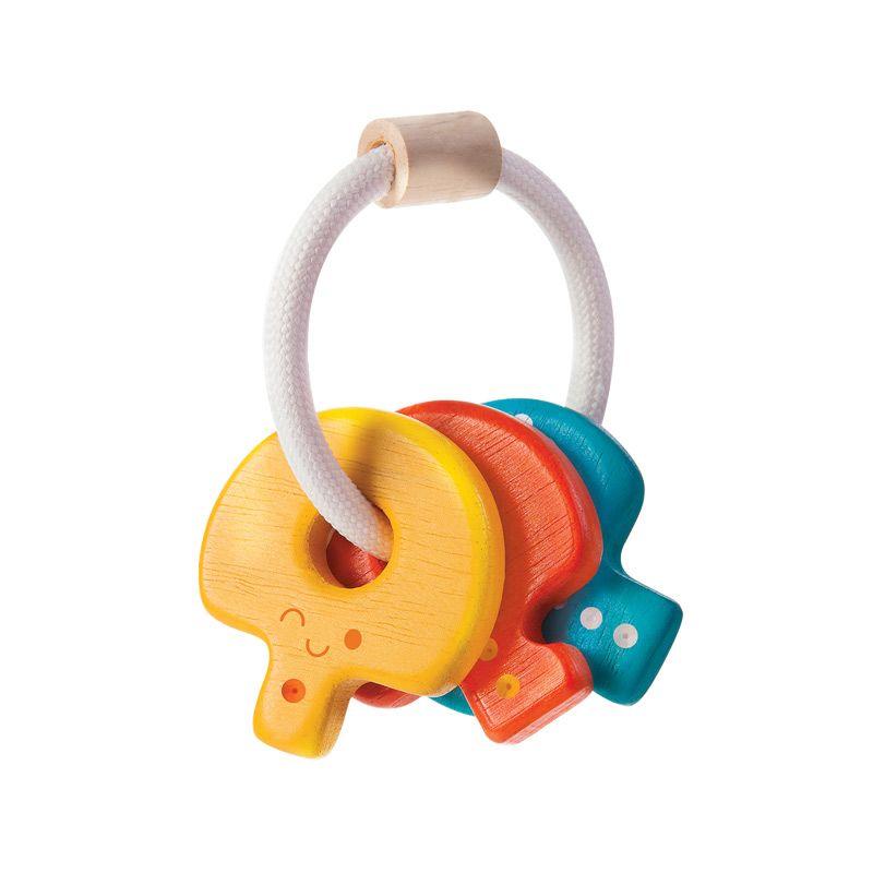 Plan Toys Baby Key Rattle PT5217 Mainan Bayi