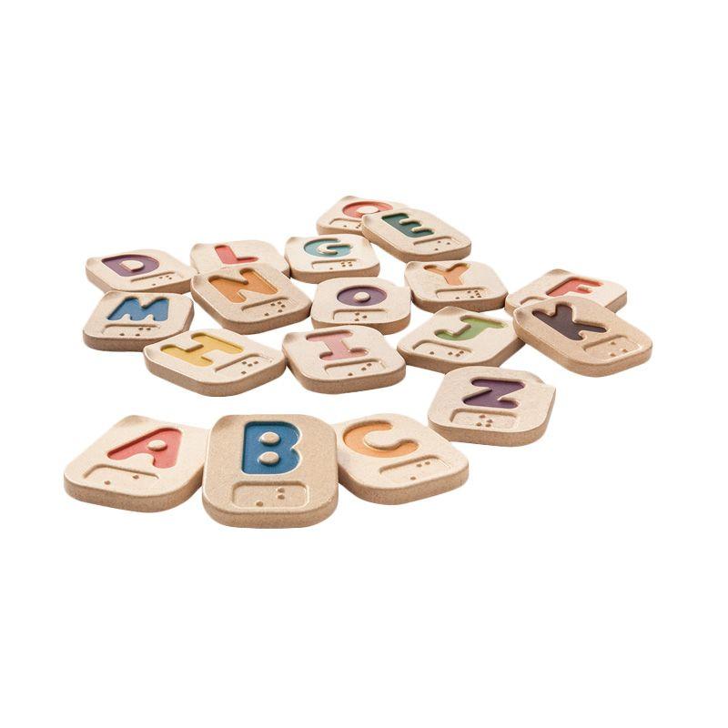 Plan Toys Brailie Alphabet AZ PT5671 Mainan Anak