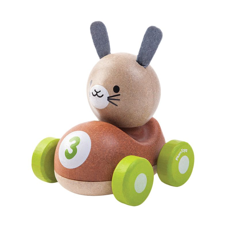 Plan Toys Bunny Racer PT5680 Mainan Anak