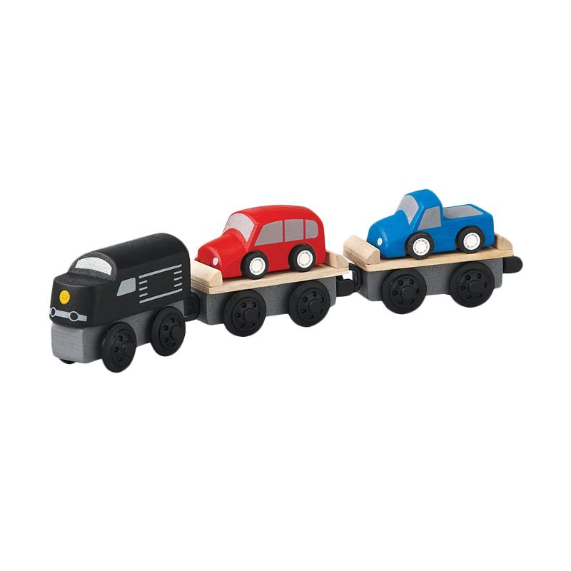 Plan Toys Car Carrier Train PT6253 Mainan Anak