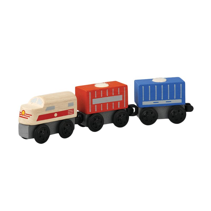 Plan Toys Cargo Train PT6250 Mainan Anak