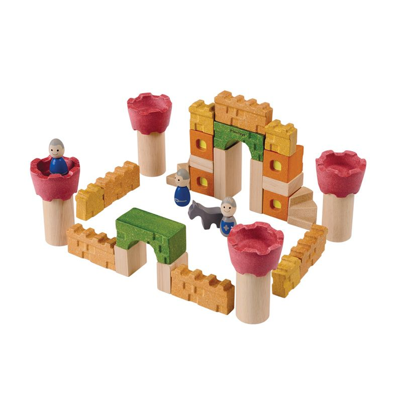 Plan Toys Castle Blocks PT5651 Mainan Anak