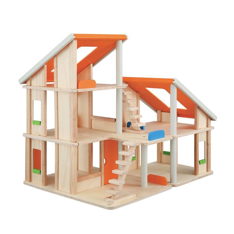 Plan Toys Chalet Dollhouse PT7139 Mainan Anak