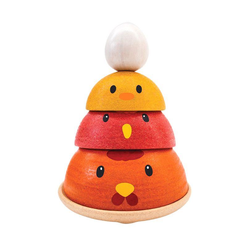 Plan Toys Chicken Nesting PT5695 Mainan Anak