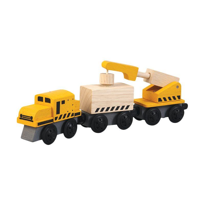 Plan Toys Crane Train PT6251 Mainan Anak