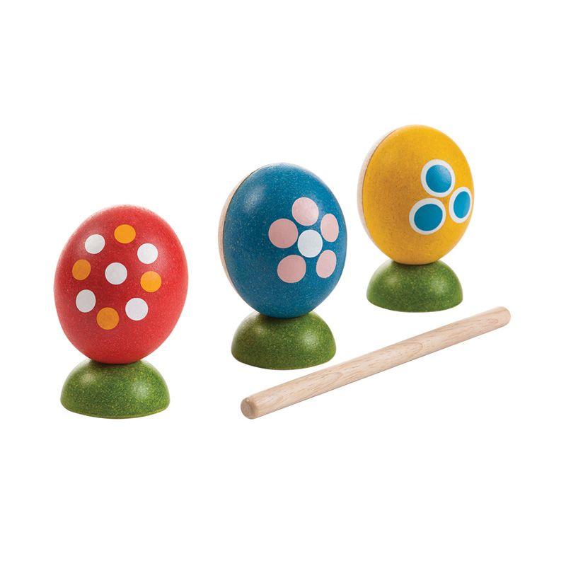 Plan Toys Egg Percussion Set PT5602 Mainan Anak