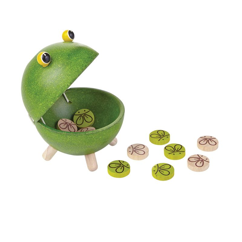 Plan Toys Feed A Frog PT4617 Mainan Anak