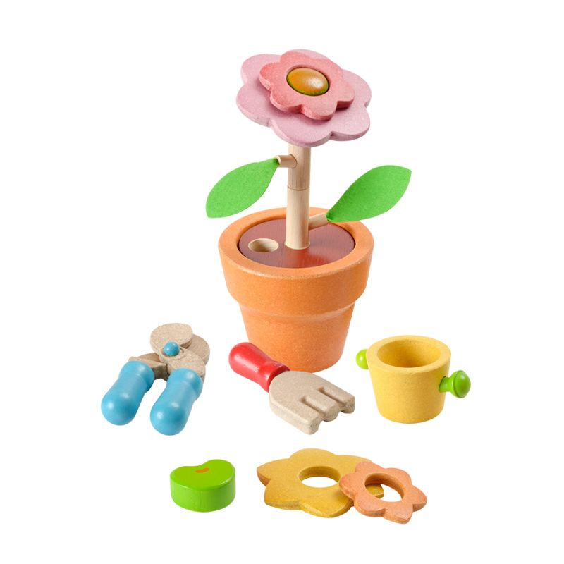 Plan Toys Flower Set PT4608 Mainan Anak