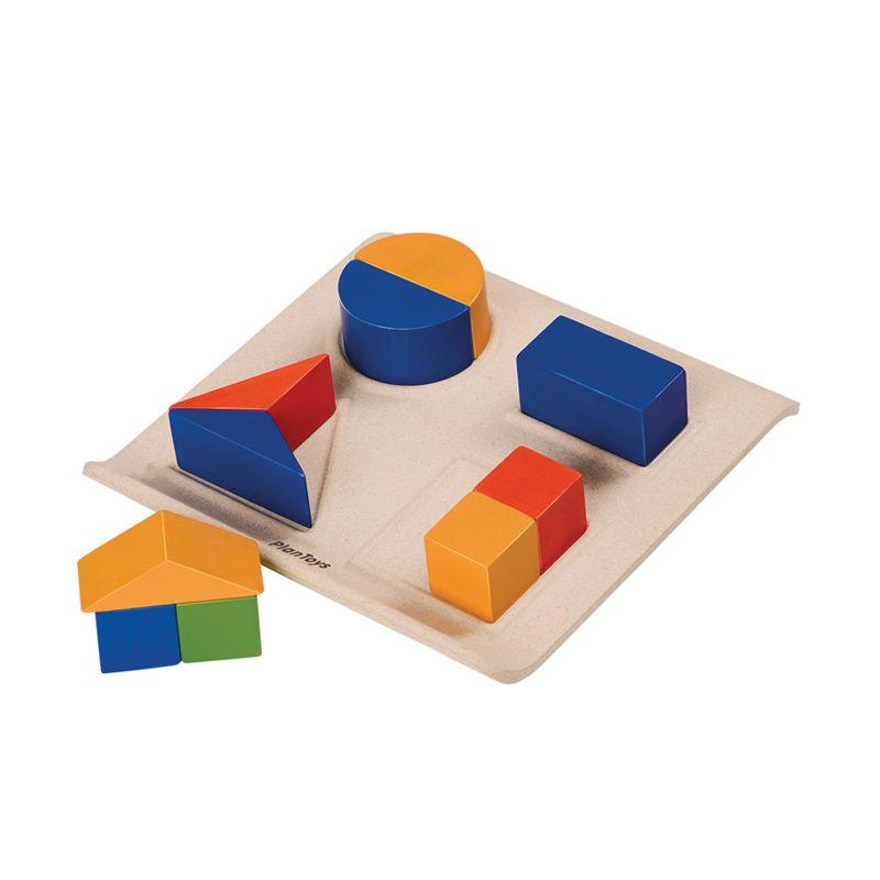 Plan Toys Fraction Fun PT5648 Mainan Anak