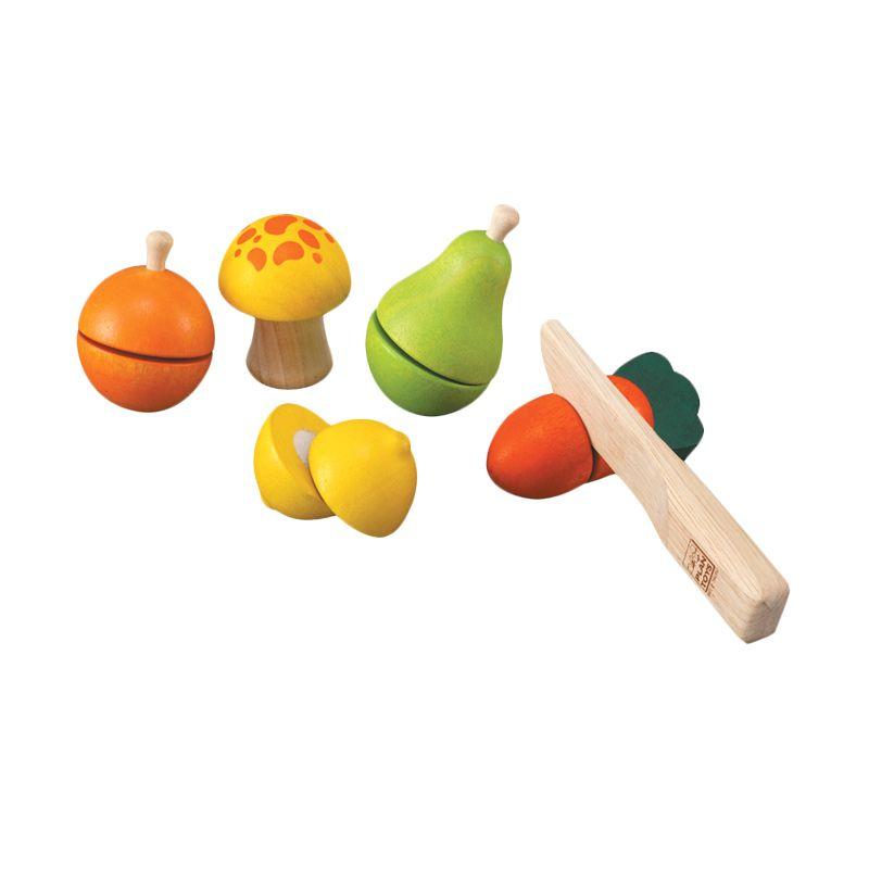 Plan Toys Fruit & Vegetable Play Set PT5337 Mainan Anak