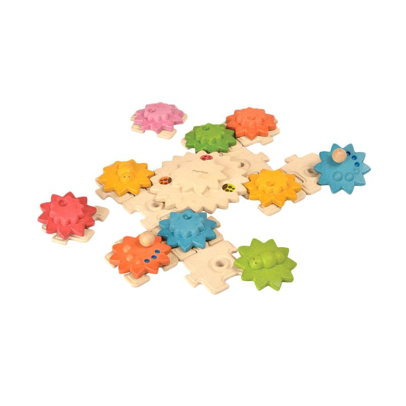 Plan Toys Gears & Puzzles Deluxe PT5636 Mainan Anak