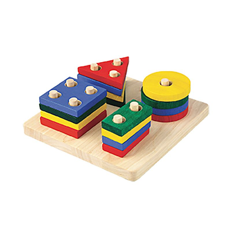 Plan Toys Geometric Sorting Board PT2403 Mainan Anak