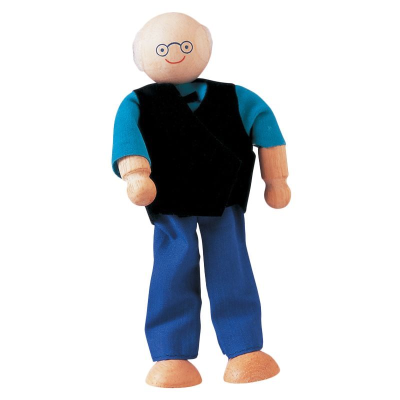 Plan Toys Grandfather Doll PT9850 Mainan Anak