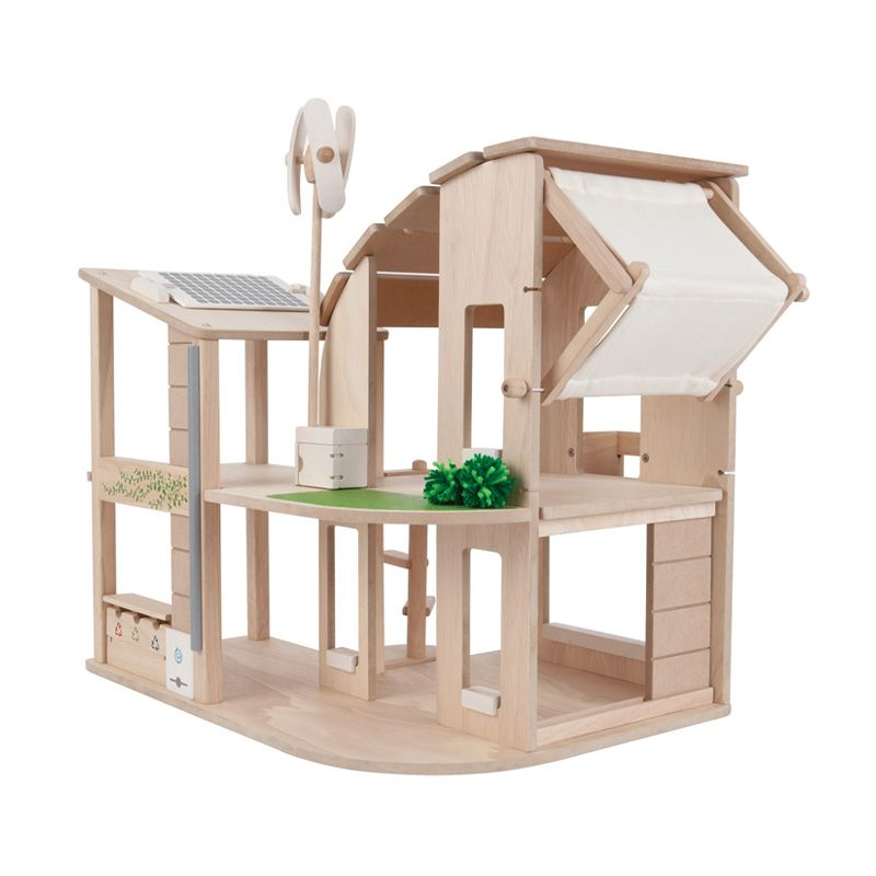 Plan Toys Green Dollhouse PT7155 Mainan Anak