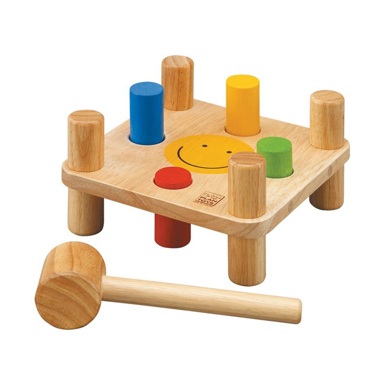 Plan Toys Hammer Peg PT5126 Mainan Anak