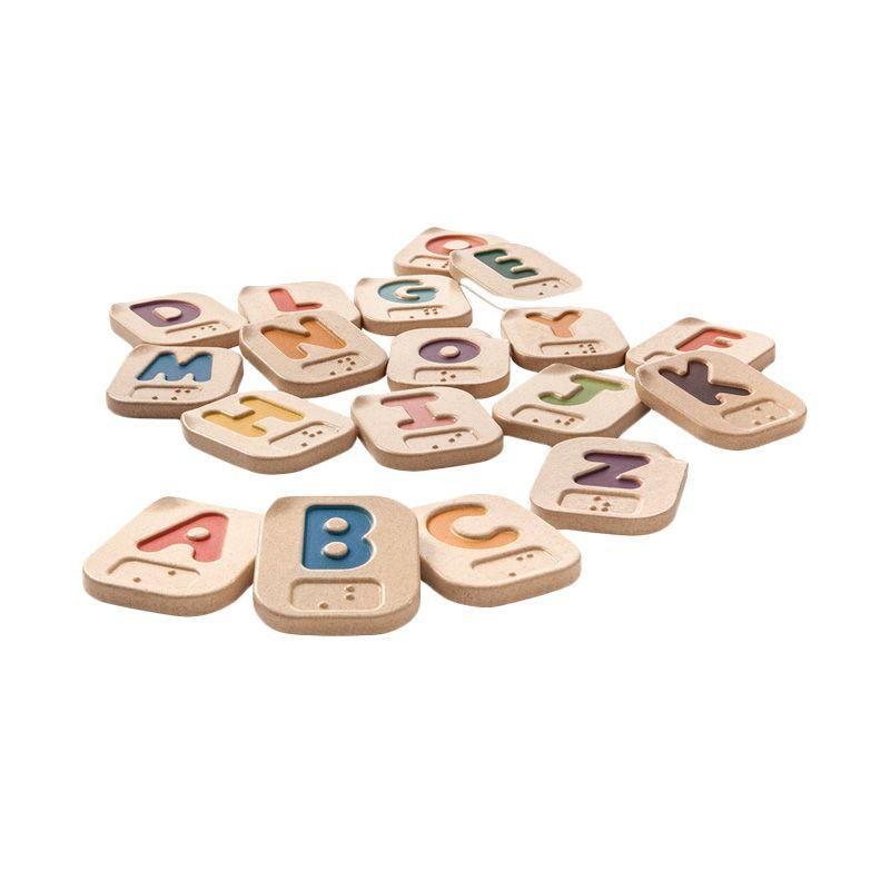 Plan Toys Hand Sign Alphabet AZ PT5672 Mainan Anak