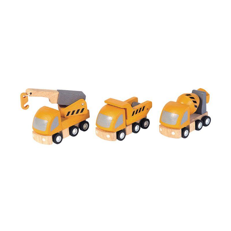 Plan Toys Highway Maintenance PT6047 Mainan Anak