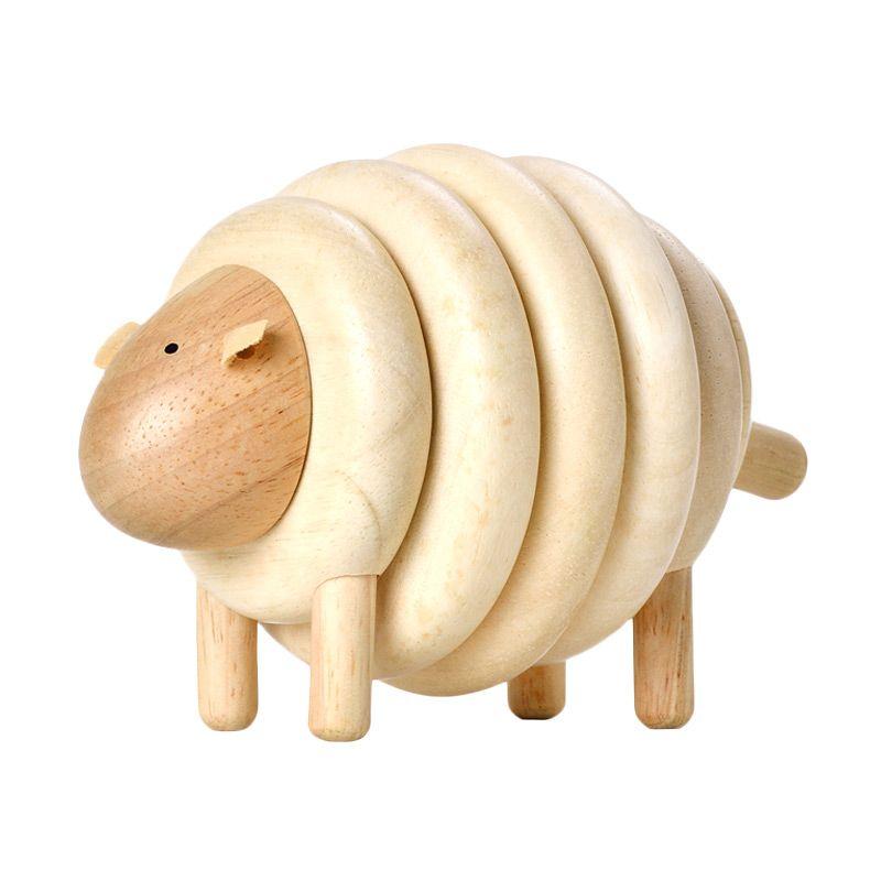 Plan Toys Lacing Sheep PT5150 Mainan Anak