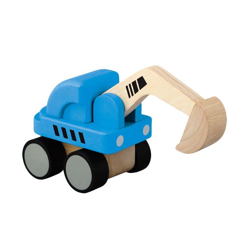 Plan Toys Mini Excavator PT6316 Mainan Anak
