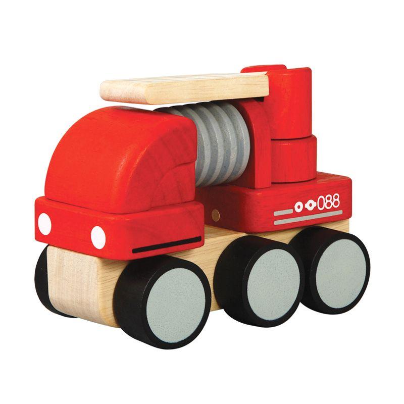 Plan Toys Mini Fire Engine PT6320 Mainan Anak