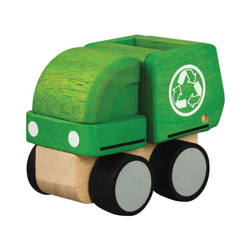 Plan Toys Mini Garbage Truck PT6319 Mainan Anak