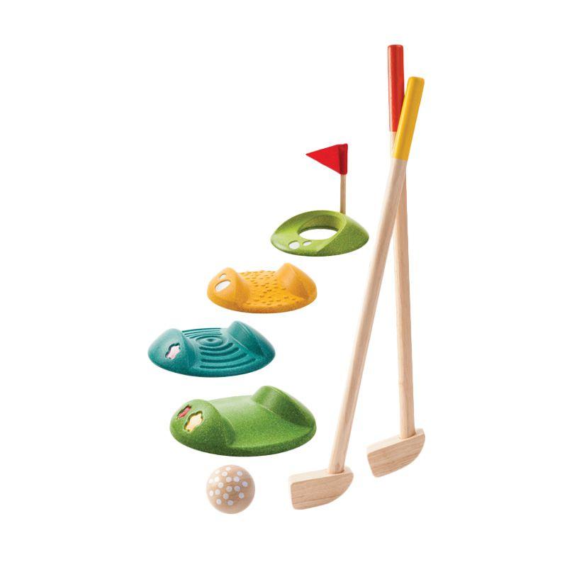 Plan Toys Mini Golf Full Set PT5683 Mainan Anak
